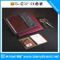 Buy cheap 2015 fashion PU notebook gift set from wholesalers