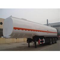 Buy cheap 45000 litre tri axle petro tanker trailer oil carrier fuel tank trailer from wholesalers