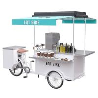 Buy cheap Electric 250W Drink Bike Large Operation Space For Street Drinking Vending from wholesalers