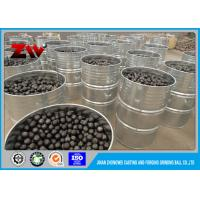 Mineral Processing High Hardness cast and forged steel grinding balls for ball mill