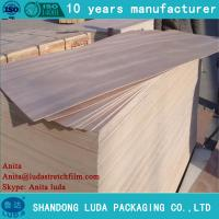 Buy cheap Luda 12mm birch plywood for furniture grade E1 glue white birch plywood for India market from wholesalers