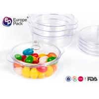 Buy cheap PS Disposable Dessert Dishes Small Plastic Dessert Containers With Lids from wholesalers