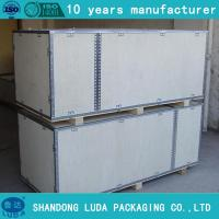 Buy cheap Reusable Wood Shipping Crates for sale from wholesalers