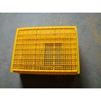 Buy cheap Slide open Plastic Chicken Crates poultry carrying crate from wholesalers