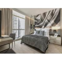 Buy cheap 0.6mm Thickness Natural Veneer Modern King Size Bedroom Sets With Media Kitchen from wholesalers