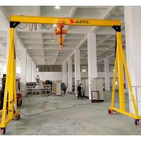 Buy cheap Portable Wheeled Gantry Crane With Driving Motor 8m Max Lifting Height from wholesalers