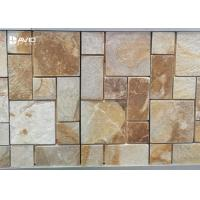 Wholesale Rectangle Sandstone Cultured Stone For Wall Decor Big And Small Bars Combination from china suppliers