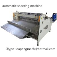 Buy cheap Aluminum Foil roll to sheet cutting machine copper foil sheeting machine max width 800mm from wholesalers