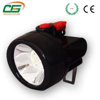Buy cheap Underground Cordless Cap Lamp 2.8Ah 3.7V Led Rechargeable IP54 from wholesalers