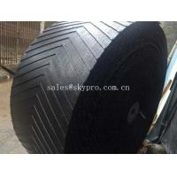 Heat Resistant Rubber Conveyor Belt With 10-24Mpa Tensile Strength , 5-30mm Thickness Manufactures