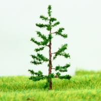Miniature Scale Model Trees Green Avenue Planting Wire Pine Tree 5cm Manufactures