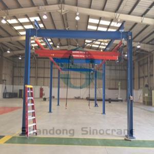 Buy cheap China Leading Brand Sinocrane Girder Overhead Traveling Bridge Crane KBK Model from wholesalers