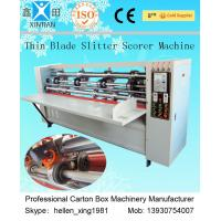 Buy cheap Low Noise Corrugated Carton Cutting Machine Of Cardboard Printing from wholesalers