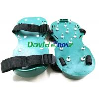 Buy cheap PVC Floor Self Levelling Tools Anti - Slip Safety Spiked Shoes Adjustable Straps from wholesalers