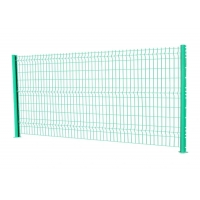 Buy cheap Round Post ISO9001 4.5mm Welded Mesh Fencing from wholesalers