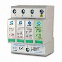Buy cheap Class C Power Surge Protectors Arrester for Power System, with 40kA Discharge Current from wholesalers