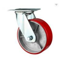 Buy cheap Round Solid Stem Scaffolding Caster Wheel / Stem Swivel Caster Wheels from wholesalers