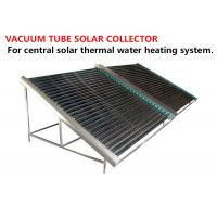 Wholesale Black Solar Energy Collectors , High Efficient Heat Pipe Solar Collector from china suppliers
