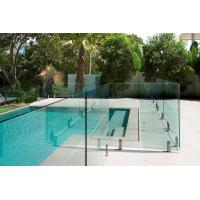 Buy cheap AS2208 Standard Swimming Pool Glass Fencing , Glass Panel Garden Fencing Safety from wholesalers