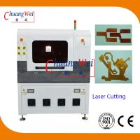 Laser Cutting PCB Depaneling Machine , 17 Watt UV Laser Cutter Equipment Manufactures