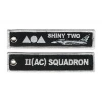 2 Squadron RAF Lossiemouth Remove Before Flight Typhoon Keyring Embroidered Manufactures