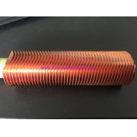 Buy cheap 25.4MM 1 Finned Copper Tubing CuNi 90/10 Shape Type UNS12200 / UNS14200 from wholesalers