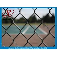 Buy cheap 50*50mm PVC Coated Chain Link Fence / Diamond Wire Mesh Round Post Type from wholesalers