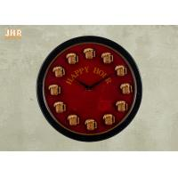 Buy cheap Round Wood Wall Clock Round Wall Clock Decorative Wall Art Signs Vintage / Retro Style from wholesalers