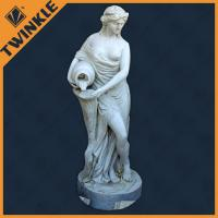 Buy cheap Outdoor White Marble Virgin Mary Statue Natural Stone Sculptures Western Style from wholesalers