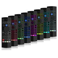 Buy cheap Voice Remote Tv Box Air Mouse , Fly Mouse Remote Control Double Keyboard product