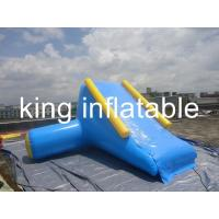 Buy cheap Kids Durable Indoor Outdoor Inflatable Water Slides Pool For Rent , Re-sale from wholesalers