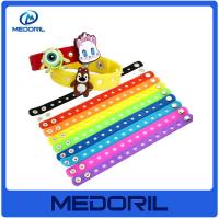 Wholesale Cheap and durable silicon wristband, Wholesale custom silicone bracelet with metal clasp from china suppliers