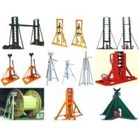 5 ton , 10 ton Hydraulic Cable Drum Jacks / Cable Jack Stand Manufactures