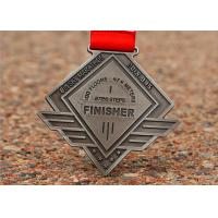 Buy cheap Marathon Games Custom Award Medals 3D Die Cast Zinc Alloy Irregular Shape from wholesalers