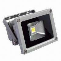 Wholesale 10W LED Floodlight with 85 to 265V AC Input Voltage, Cast Aluminum Body and Toughened Glass from china suppliers