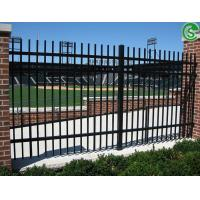 Buy cheap 8ft welded steel tube residential ornamental fencing for border from wholesalers