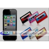 Buy cheap Cassette Tape 4G iPhone 4S Silicon Cases Skin Accessories for Mobile Phone from wholesalers