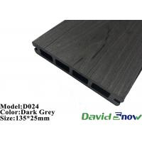 Buy cheap Outdoor Flooring WPC Plastic Composite Decking Hollow Decking 135*25mm product