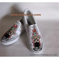 Supply high quality hand painted shoes Manufactures