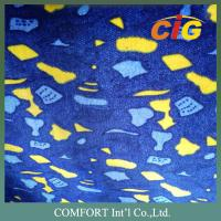 Colorful Printing Auto Upholstery Fabric , Car Upholstery Fabric  200g to 380g/sqm Manufactures