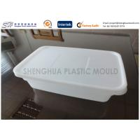 Wholesale Safety Plastic Food Containers Airtight Food Storage Takeaway Rectangle Thin Wall from china suppliers