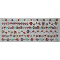 Buy cheap Japan Style Glitter Foam Stickers , Flower Borders Shinning PVC Foam from wholesalers
