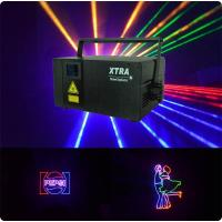 Wholesale 3D Animation Laser Stage Light 3.5W RGB Full Color For Weddings from china suppliers