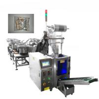 Buy cheap Nut Bolt Screw Hardware Packaging Machine With Multi Vibration Plate Counting from wholesalers