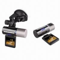 Buy cheap Private Car DVR with Dual Camera, Screen with Insert or Pull Function, Built-in GPS Function from wholesalers