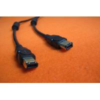 Buy cheap Standard Computer IEEE 1394 Firewire Cable Assemblies 6 PIN / 9 PIN High Speed product