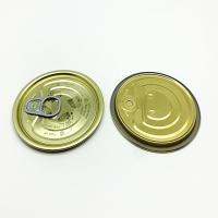 Buy cheap Food Cans Beverage Sealing Easy Open End ETP Gold/Gold lacquer from wholesalers