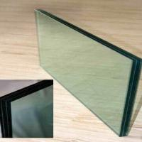 Buy cheap EVA Laminated Glass in High Transparent, More Strength, Used in Building Glass Walls from wholesalers