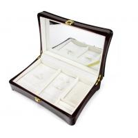 Buy cheap Luxury Wood Gift Box Packaging / Wooden Jewelry Case In Glossy Finish from wholesalers