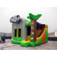 Buy cheap Commercial Grade Indoor Inflatable Bounce House Hand Painting Available from wholesalers